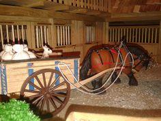 kôň s vozom