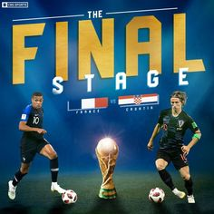 ONE GAME TO DECIDE IT ALL #WorldCup World Cup Russia 2018, World Cup 2018, Fifa World Cup, World Cup Games, Cbs Sports, Soccer Stuff, World Cup Final, Soccer World, France