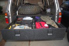 Toyota Land Cruiser :: Bed drawer Build DIY