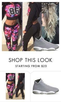 """""""Untitled #9007"""" by carmellahowyoudoin ❤ liked on Polyvore featuring NIKE"""