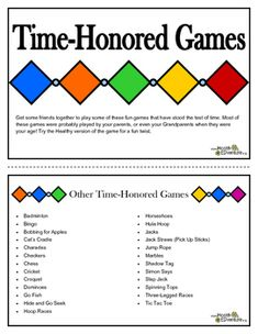 Physical Activity: Old Fashioned Games for Indoor and Outdoor Fun Phonics Activities, Classroom Activities, Physical Activities, Time Games For Kids, Old Fashioned Games, Learning Resources, Teaching Ideas, Elementary Schools, Elementary Teacher