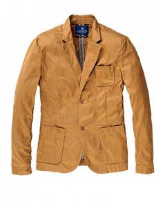Fitted blazer - Sand - Blazers - Scotch & Soda Online Fashion & Apparel Shop - EUR 170,-