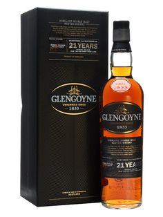 GLENGOYNE 21 YEAR OLD Sherry Cask, Highlands