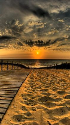 Sunset Over a Deserted Beach-  I added this for the beautiful pic.  However, I'm sure the article is good, too!  Lol