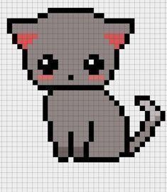 100 Idees De Coloriages De Dessins Pixel Art En 2021 Pixel Art Licorne Pixel Art Chaton Pixel Art