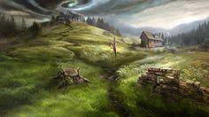 Otherworld - dark plains by firedudewraith.deviantart.com on @deviantART Otherworld: Spring of Shadows