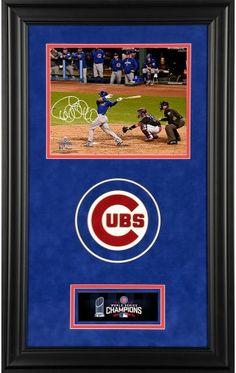 b66f71449fd Wilson Contreras 2016 World Series Champions Deluxe Framed Signed 8 x 10  Photo. Wilson ContrerasChicago Cubs ...