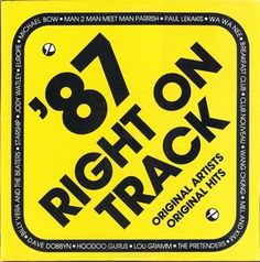 Australian Compilation LPs - 1987