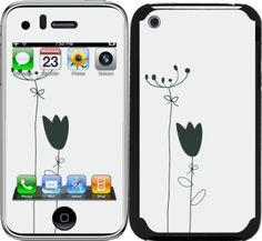 iPhone 3 / 3GS için Ozi Lale Kapak