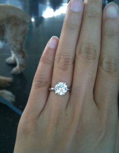 Literally my dream ring <3 1.5ct isn't that much to ask for