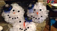 Marsha's UK snowmen 2015