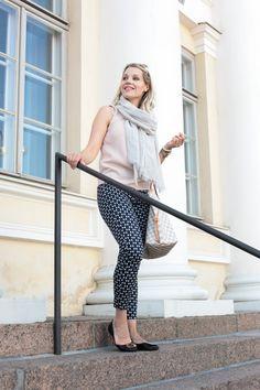 Päivän asu Balmuir scarf Louis Vuitton Never full Classy style Classy outfit