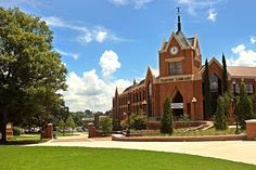 Located in historic downtown Macon, Jack Tarver Library provides services primarily for Mercer University's Macon campus. Mercer Bears, Mercer University, Alma Mater, College Life, My Dream, Explore, Mansions, House Styles, Colleges