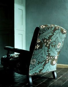 William Morris, use our expert upholstery service. arts and crafts Interior Design Tips, Interior Decorating, William Morris Art, Art Nouveau, Arts And Crafts Movement, Of Wallpaper, Wallpaper Designs, Upholstered Chairs, Design Hotel