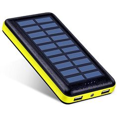 Antun Portable Charger Solar Power Bank Dual USB Battery Charger Travel External Battery Pack Outdoor Solar Panel with LED Flashlight (Rose Red) Battery Charger Circuit, Solar Charger, Solar Battery, Solar Phone Chargers, Off Grid Batteries, Lead Acid Battery, Portable Charger, Led Flashlight, Solar Power