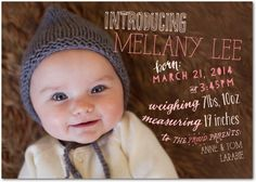 Whimsical Arrival - Girl Photo Birth Announcements - Ladyfingers Letterpress - Ballet - Pink : Front
