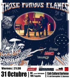 Those furious flames en Café Cultural Auriense, Ourense music musica concerto concierto