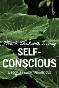 If you feel self-conscious, awkward or anxious around other people, be it in social settings with people you know or with strangers, or in your work environment, please know that feeling this way is not uncommon and is resolvable. You might experience only low-level uneasiness which you'd like to nail so you can have more confidence and freedom, or it may be a significant issue for you causing you to carry an undue sustained level of stress, and restricting how you live your precious life.