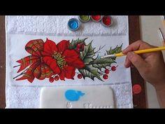 Paisagem com Neve em Tecido (Natal 1/ 2016) - YouTube
