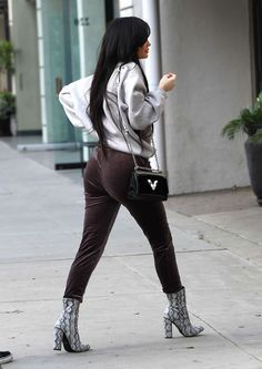 KYLIE JENNER Out in Beverly Hills 02/01/2017