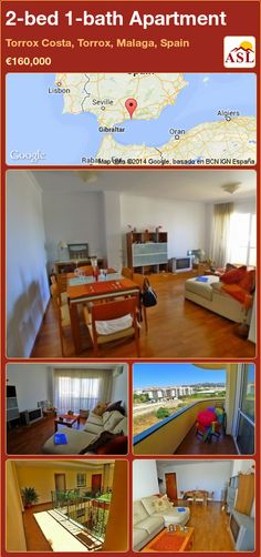 2-bed 1-bath Apartment in Torrox Costa, Torrox, Malaga, Spain ►€160,000 #PropertyForSaleInSpain