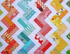 Split Rail Fence Baby Quilt Pattern