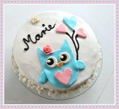 Owl cake ♥ süße Eulentorte