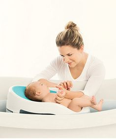 Angelcare Soft-Touch Bath Support - Aqua - supports & mats - Mothercare