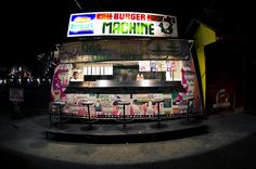 Burger Machine #cheapthrills #burger #Philippines