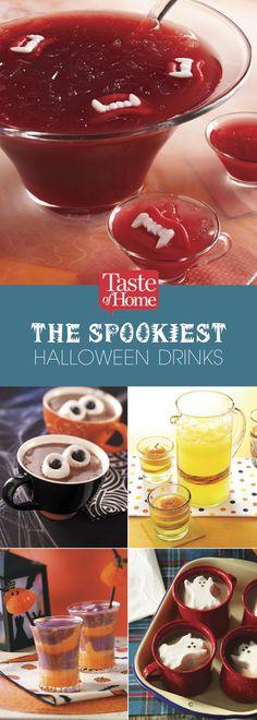 The Spookiest Halloween Drinks (from Taste of Home)