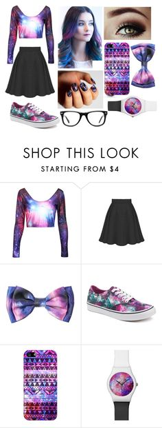 """""""Rainbow"""" by qwerty-16-polyvore ❤ liked on Polyvore featuring Vans, Beats by Dr. Dre, Casetify, Muse and JINsoon"""