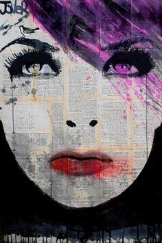"Saatchi Online Artist Loui Jover; Drawing, ""birdsong"" #art"