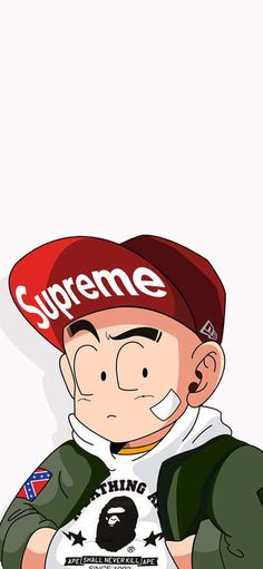 Long Zhu exceeds fashionable current flow to draw caricature Supreme Wallpapers for iPhone X, iPhone XS and iPhone XS Max - Free Wallpaper | Download Free Wallpapers