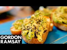 Gordon Ramsay's Avocado on Toast with a Twist - YouTube