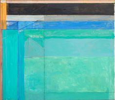 Richard Diebenkorn (American, 1922–1993)  Ocean Park No. 68, 1974  Oil on canvas  81 x 93 in. (205.74 x 236.22 cm)  Gift of Jane Bradley Pettit M1980.183   Photo creditJohn R. Glembin  © Estate of Richard Diebenkorn