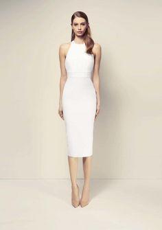 Alex Perry ready-to-wear spring/summer - Vogue Australia White Midi Dress, Yellow Dress, Nice Dresses, Short Dresses, Alex Perry, Fashion Show, Fashion Design, Dream Dress, Minimalist Fashion