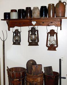 crocks, lanterns, pickling crocks....love it! by Ken_Tikaani
