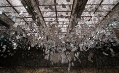 Chiharu Shiota - Letters of the Thanks [the Museum of Art, Kochi, Japan]