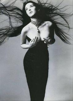 Isabelle Adjani. Richard Avedon. 1994.