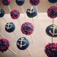 Anchor Cake Pops https://instagram.com/p/dJ-OyTnIu7/