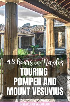 You can't pass through Naples without visiting Pompeii and Mount Vesuvius! See my recommendation of where to stay and how to see these historic sites. What to see in Naples Italy | Where to stay in Naples Italy | Hike Mount Vesuvius | Pompeii travel | What to do in in Naples Italy | Things to see in Naples Italy | Day trips from Naples Italy | Naples Italy with kids | Pompeii guide | Hike Mt Vesuvius | Why you should go to Naples Italy | Italy Travel Tips, Travel Europe, European Travel, Places To Travel, Places To Go, Italy Destinations, European City Breaks, Naples Italy, Backpacking Europe
