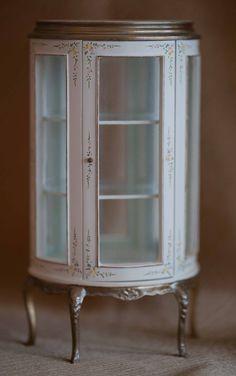 Dollhouse Miniature Furniture Display by LaBelleEpoqueBoudoir, $25.00