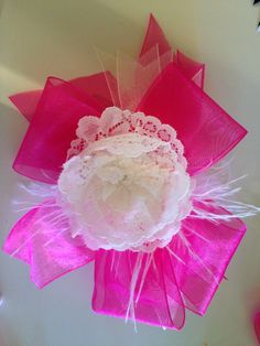 Pink+and+Lace+Bow