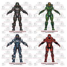 "SET OF 4 Series 2 Halo 5 Guardians McFarlane 6"" Action Figure"