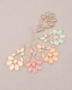 Stitch and Stone Demi Flower Earrings