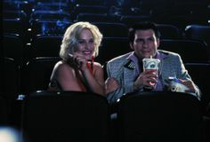 Patricia Arquette as Alabama Whitman and Christian Slater as Clarence Worley in True Romance Patricia Arquette, Christian Slater, True Romance, Romance Movies, See Movie, Film Movie, Best Romantic Movies, Tony Scott, Image Film