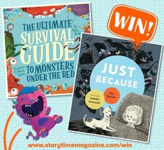 Storytime runs a kids competition each month where you can our brilliant Books of the Month and more! Enter today to be in with a chance of winning. Competitions For Kids, Monster Under The Bed, Picture Books, Survival Guide, Story Time, New Pictures, Monsters, Illustration, Survival Guide Book