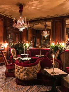 The outrageously opulent Hotel Costes...