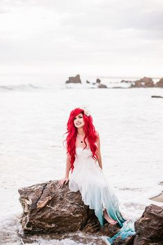 Hipster Little Mermaid Wedding | POPSUGAR Love & Sex