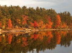 Crystal Lake Gray Maine